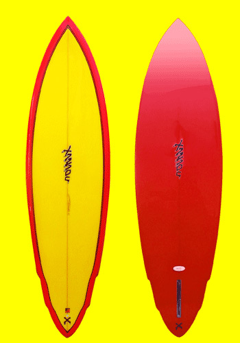 xanadu surfboards - barrel rider model