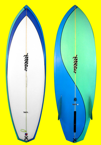 xanadu surfboards - bonz x model