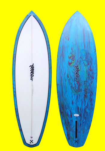 xanadu surfboards - hot dog model