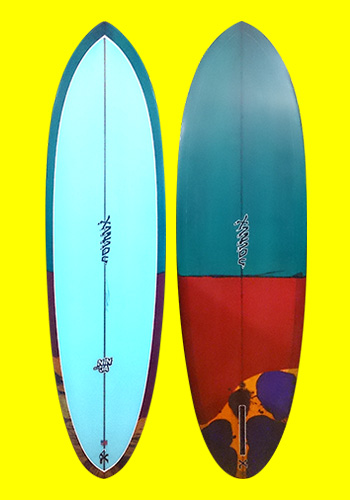 xanadu surfboards - ninja
