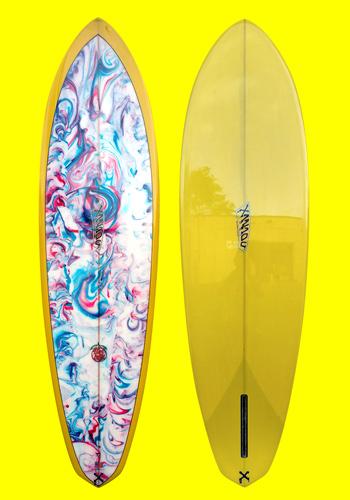 xanadu surfboards - tangerine