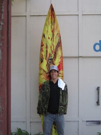 Scott Vint - Xanadu Surf Designs - Chase Gun