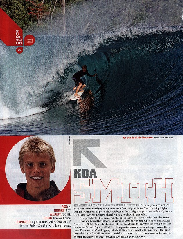 Koa Smith - Xanadu Surf Designs