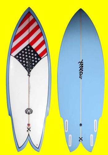 xanadu surfboards nyda model