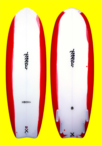 xanadu surf designs - xbox small wave surfboard model