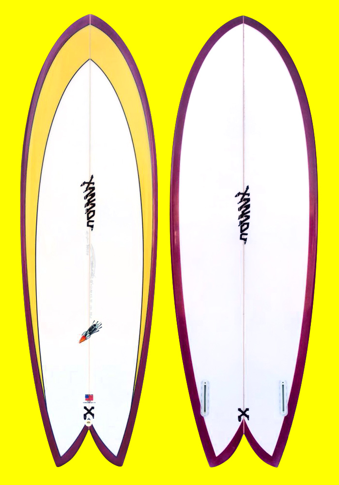 xanadu surfboards - lotus