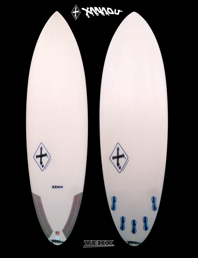 new board models - xanadu-vekx