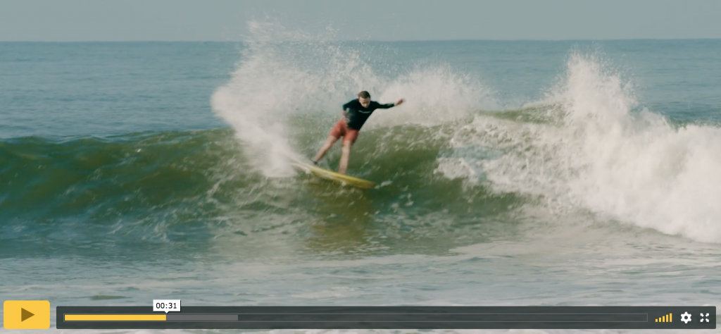 tyler warren rides a wing twin model on surfline
