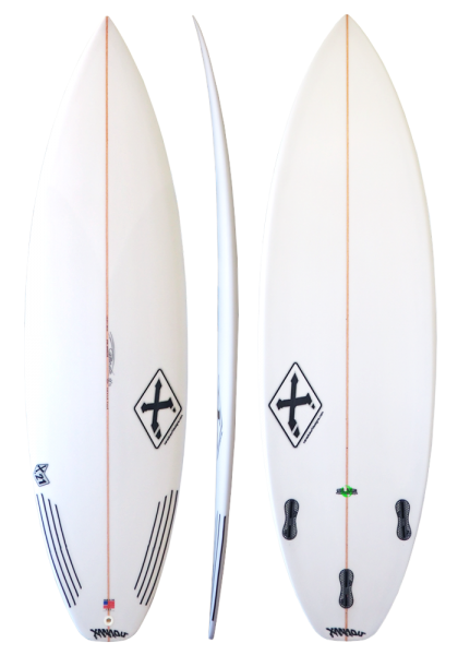 Xanadu Surfboards X21 model