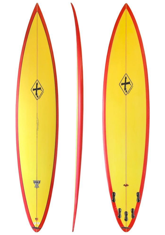 Xanadu the Chase gun big wave surfboard