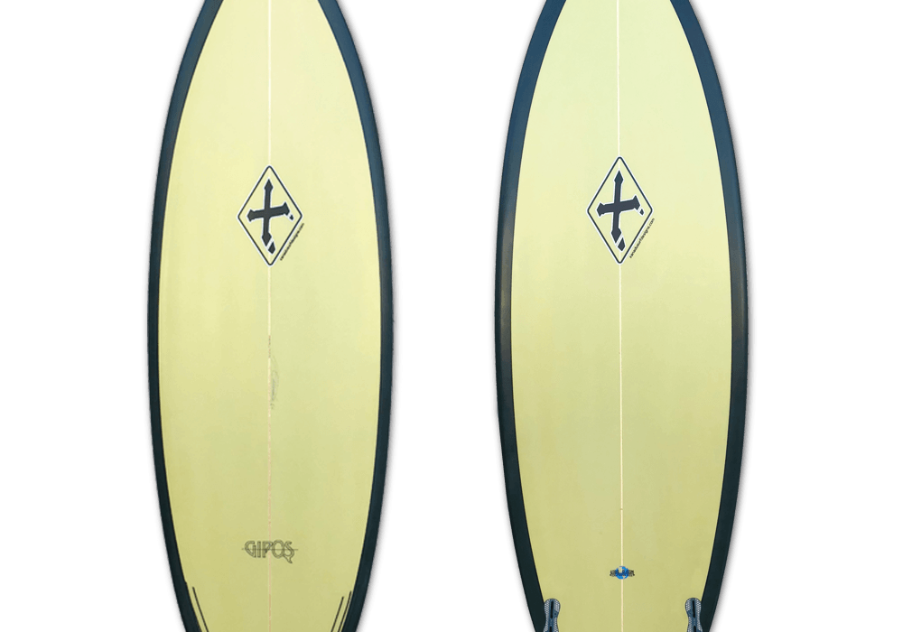 Xanadu surfboard Gipos model 6'4""
